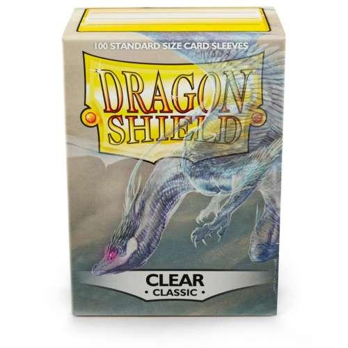 Dragon Shield Standard Sleeves (Clear) - 63 mm x 88 mm
