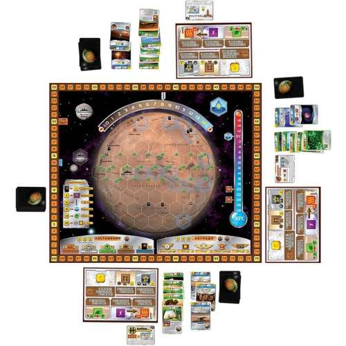 Тераформирай Марс (Terraforming Mars) - настолна игра