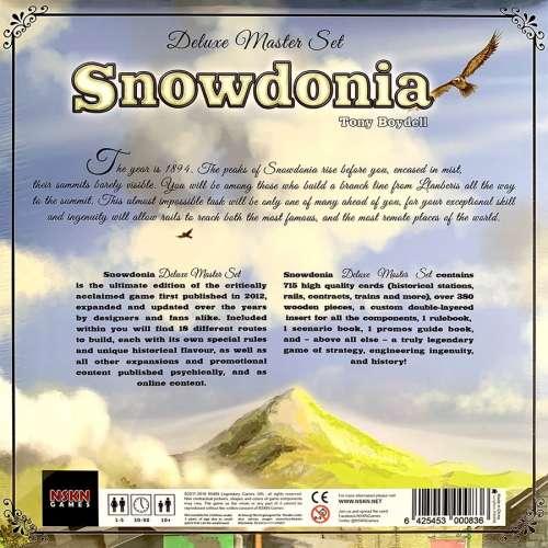 Snowdonia: Deluxe Master Set (+ Fix Pack) - настолна игра