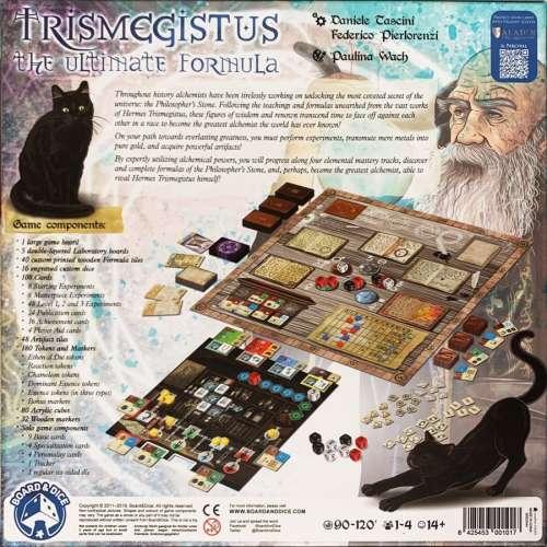 Trismegistus: The Ultimate Formula - настолна игра