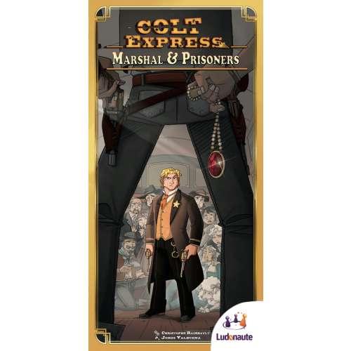 Colt Express: Marshal & Prisoners - разширение за настолна игра