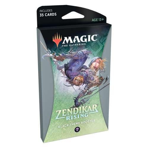 Magic: The Gathering - Zendikar Rising Theme Booster (Black)