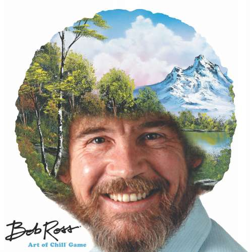 Bob Ross: Art of Chill Game - настолна игра