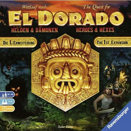The Quest for El Dorado: Heroes & Hexes - разширение за настолна игра