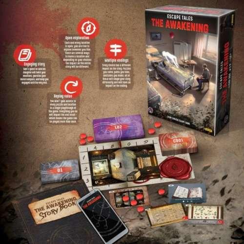 Escape Tales: The Awakening - настолна игра