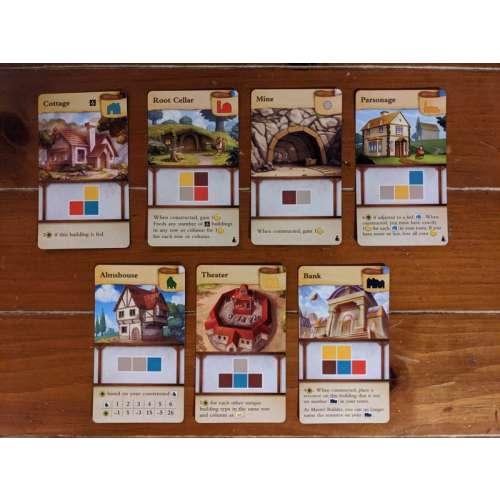 Tiny Towns: Fortune - разширение за настолна игра