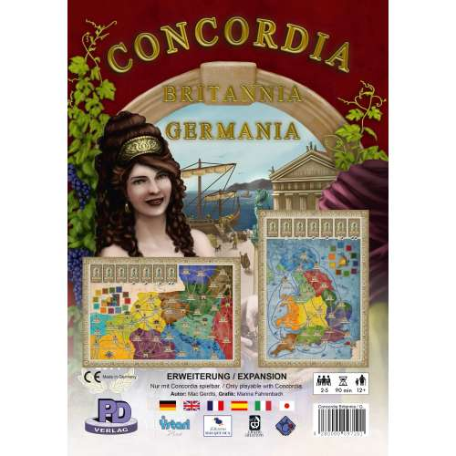 Concordia: Britannia / Germania - разширение за настолна игра