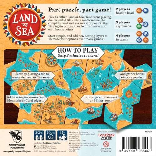 Land vs Sea - настолна игра