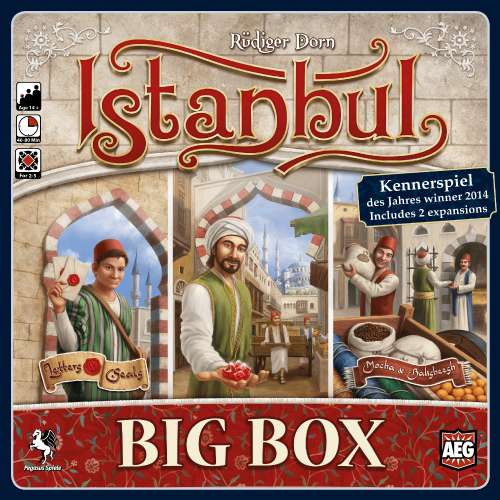 Istanbul: Big Box - настолна игра