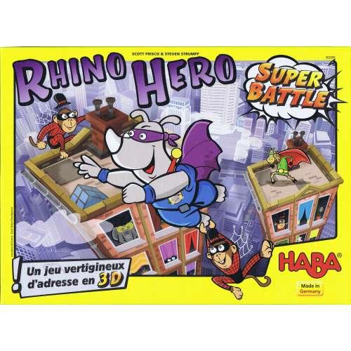 Битката на Супер Рино (Rhino Hero: Super Battle) - настолна игра