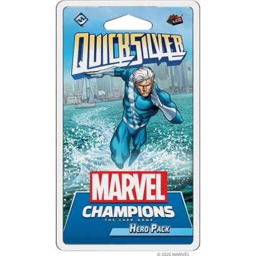 Marvel Champions: The Card Game – Quicksilver Hero Pack - разширение за настолна игра
