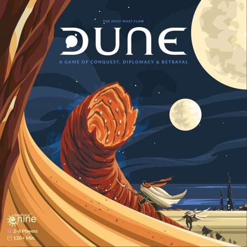 Dune (Special Edition with miniatures) - настолна игра