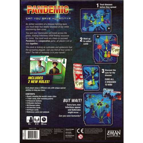 Pandemic - настолна игра