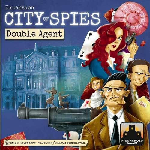 City of Spies: Double Agent - разширение за настолна игра
