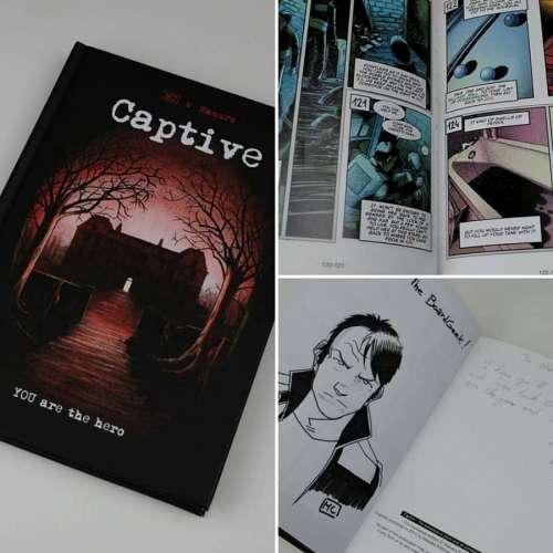 Captive - книга-игра