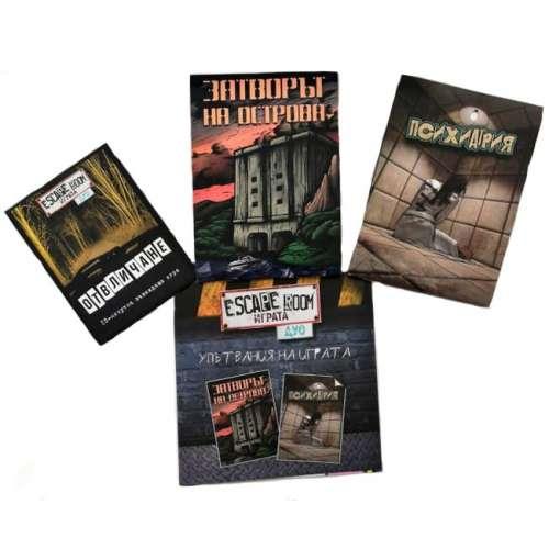 Escape Room: Играта – Дуо - настолна игра