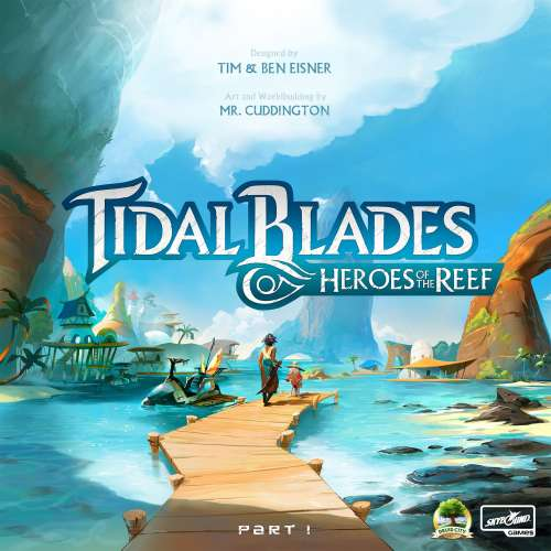 Tidal Blades: Heroes of the Reef - настолна игра