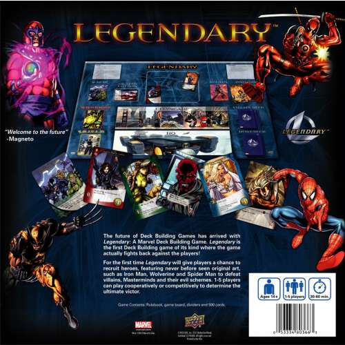 Legendary: A Marvel Deck Building Game - настолна игра