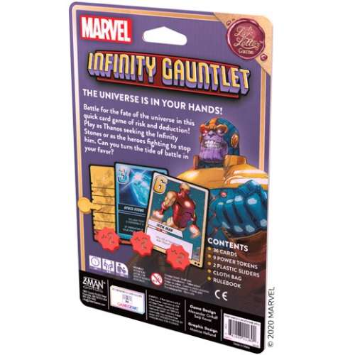 Infinity Gauntlet: A Love Letter Game - настолна игра