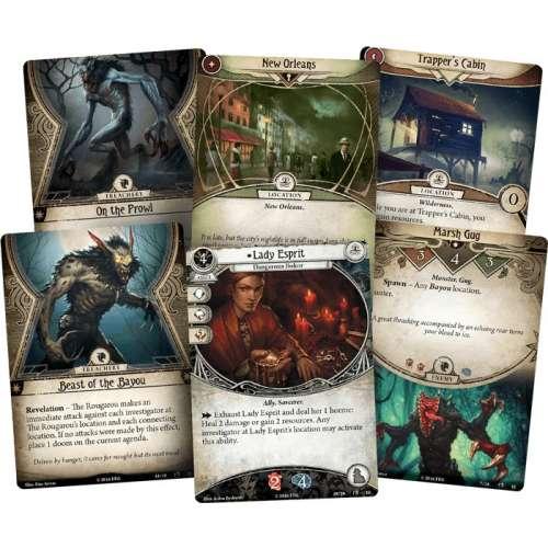 Arkham Horror: The Card Game – Curse of the Rougarou: Scenario Pack - разширение за настолна игра
