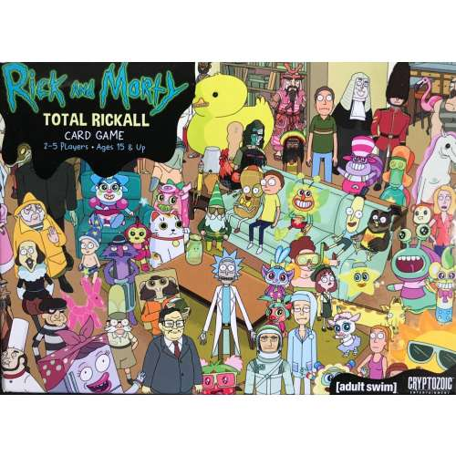 Rick and Morty: Total Rickall Card Game - настолна игра