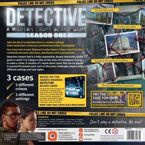 Detective: A Modern Crime Board Game – Season One - настолна игра
