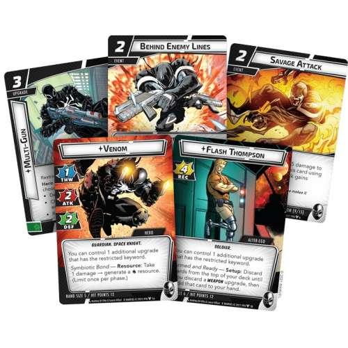 Marvel Champions: The Card Game – Venom Hero Pack - настолна игра