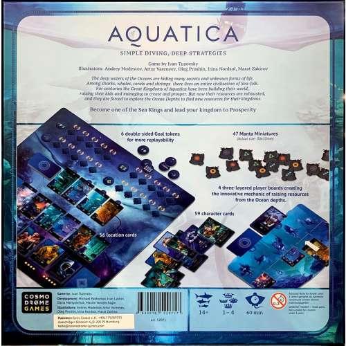 Aquatica - настолна игра