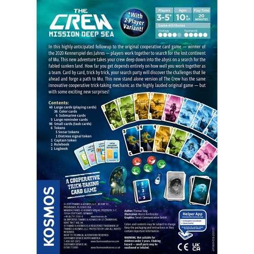 The Crew: Mission Deep Sea - настолна игра