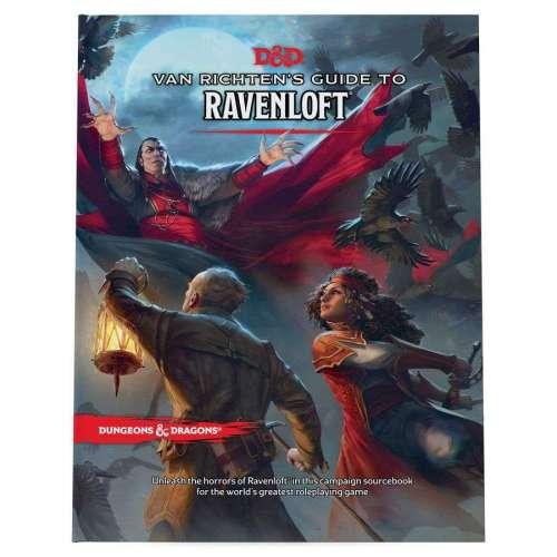 Dundeons & Dragons RPG: Van Richten's Guide to Ravenloft
