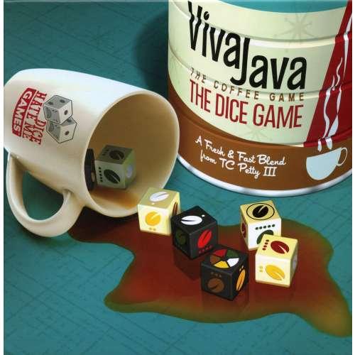 VivaJava: The Coffee Game: The Dice Game - настолна игра