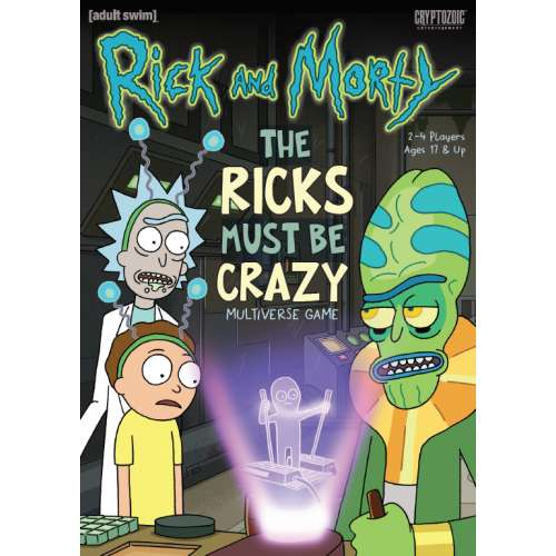 Rick and Morty: The Ricks Must Be Crazy Multiverse Game - настолна игра
