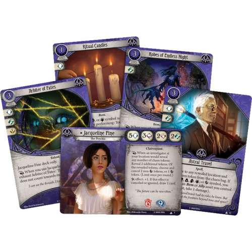 Arkham Horror: The Card Game – Jacqueline Fine: Investigator Starter Deck - разширение за настолна игра