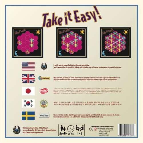 Take it Easy! - настолна игра