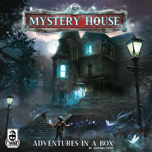 Mystery House: Adventures in a Box - настолна игра