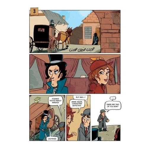 Sherlock Holmes: The Challenge Of Irene Adler - книга-игра