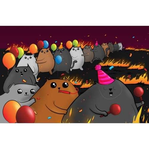 Експлодиращи котета: Парти кутия - настолна игра