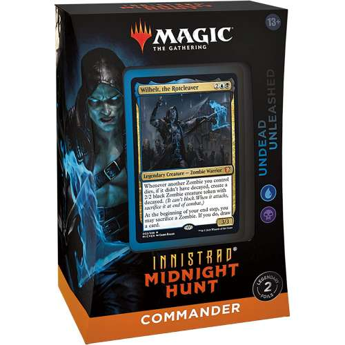 Magic: The Gathering - Innistrad: Midnight Hunt Commander Deck – Undead Unleashed