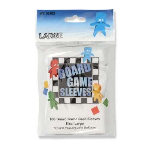 Arcane Tinmen Board Games Sleeves (Clear) - 59 x 92 mm