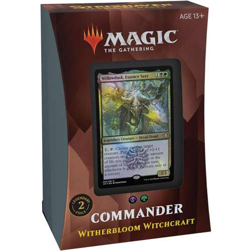 Magic: The Gathering - Strixhaven Commander Deck - Witherbloom Witchcraft