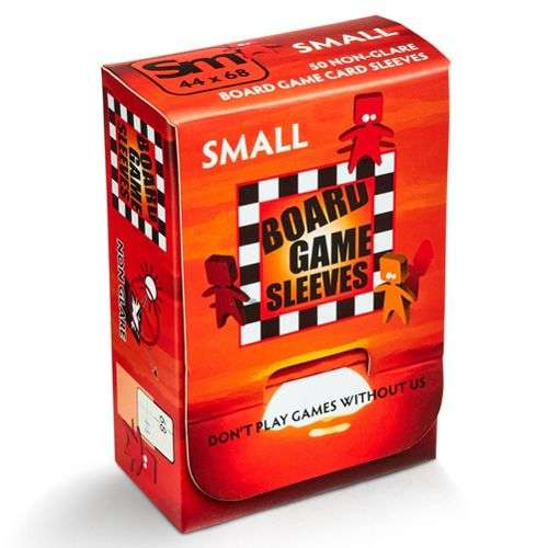 Arcane Tinmen Board Games Sleeves (Clear, Non-Glare) - 44 x 68 mm