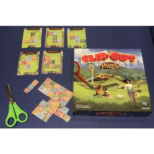ClipCut Parks - настолна игра