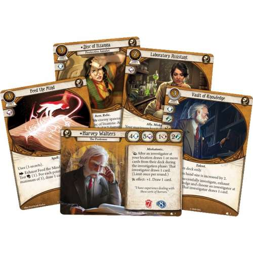 Arkham Horror: The Card Game – Harvey Walters: Investigator Starter Deck - разширение за настолна игра
