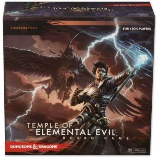 Dungeons & Dragons: Temple of Elemental Evil Board Game - настолна игра