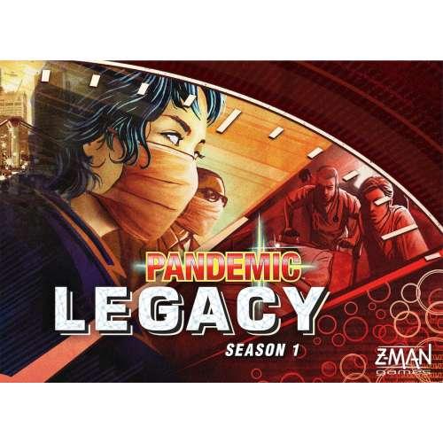 Pandemic Legacy: Season 1 (Red Cover) - настолна игра