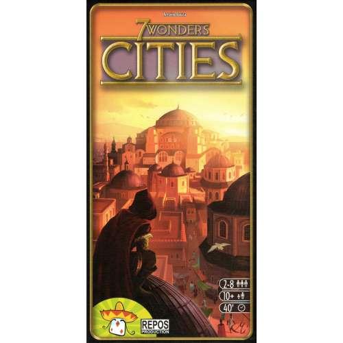 7 Wonders: Cities - разширение за настолна игра