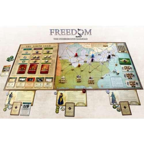 Freedom: The Underground Railroad - настолна игра