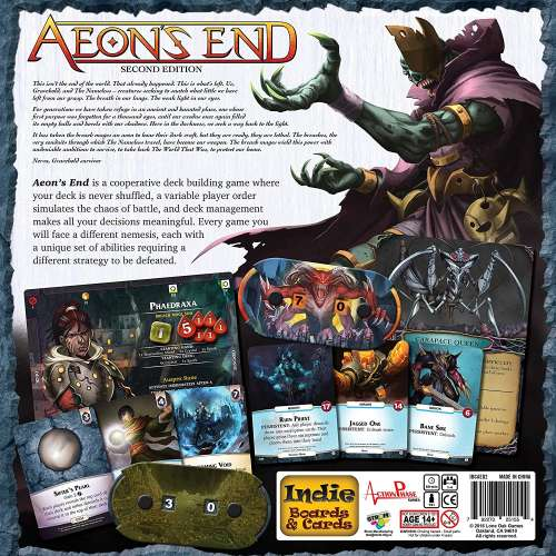 Aeon's End: Second Edition (+ Promo Pack) - настолна игра
