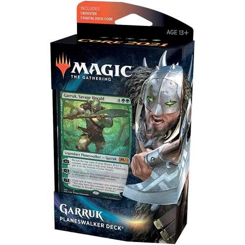 Magic: The Gathering - Garruk Savage Herald Planeswalker Deck (Core Set 2021)