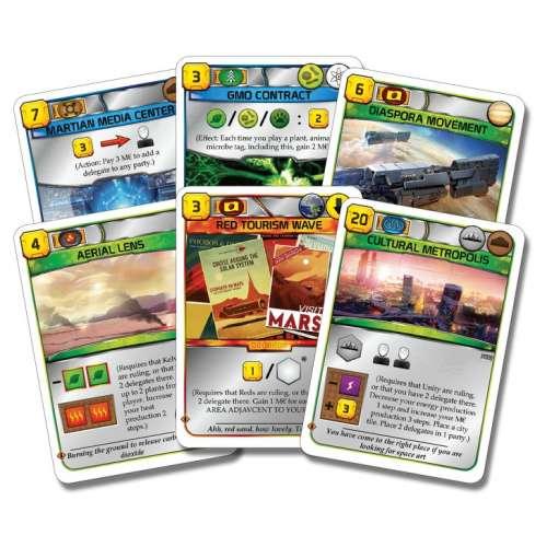 Terraforming Mars: Turmoil - разширение за настолна игра